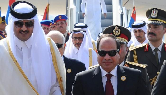 أمير قطر يبعث برقية تعزية إلى السيسي في وفاة المشير طنطاوي