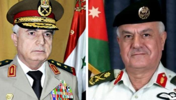 وزير الدفاع السوري علي أيوب في عمّان