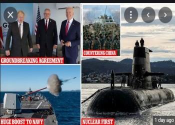 اتفاق أوكوس: انهيار التحالفات الغربية وحرب باردة جديدة