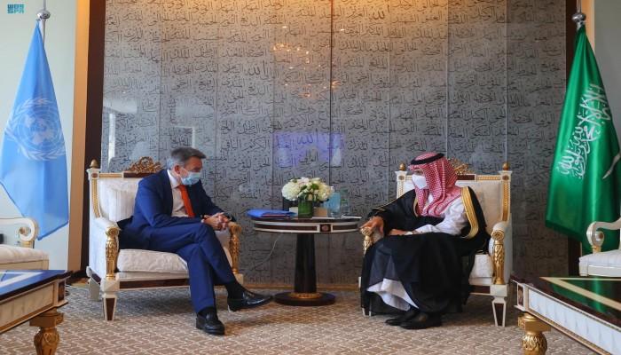 السعودية والأمم المتحدة تبحثان منع أزمة إنسانية بأفغانستان