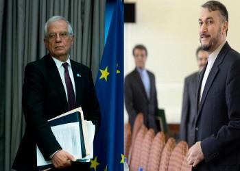 لأول مرة.. مسؤول السياسة الخارجية في الاتحاد الأوروبي يلتقي وزير خارجية إيران