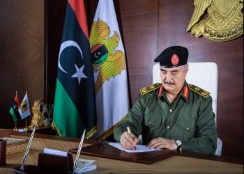 تمهيدا لترشحه بالانتخابات.. حفتر يكلف رئيس أركانه بقيادة قوات شرق ليبيا