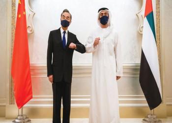 وزير خارجية الإمارات ونظيره الصيني يبحثان الشراكة الاستراتيجية