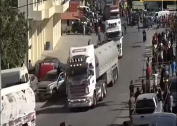 قافلة خامسة من المازوت الإيراني تتجه إلى لبنان