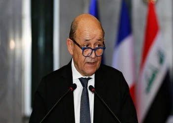 """وزير خارجية فرنسا: أجريت محادثات """"مفعمة بالثقة"""" مع الرئيس العراقي"""