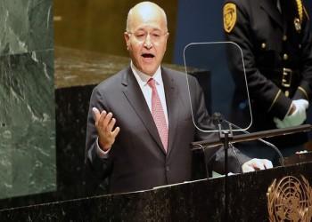 برهم صالح: الانتخابات المقبلة مصيرية ولا سلام بالمنطقة دون استقرار العراق
