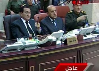 قائد سابق بالجيش المصري يكشف كواليس بيان تنحي مبارك