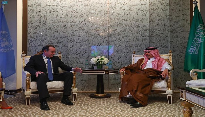 السعودية تبحث مع الولايات المتحدة سبل إرساء الاستقرار بالشرق الأوسط