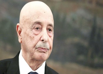 عقيلة صالح: حل الأزمة في ليبيا يكمن بالانتخابات والحكومة مستمرة في عملها