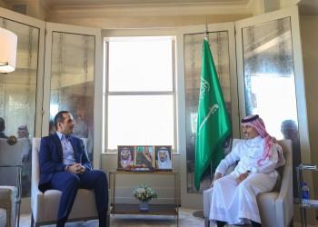 وزير الخارجية السعودي يلتقي نظيره القطري بنيويورك (فيديو وصور)