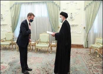 رئيسي لسفير بريطانيا الجديد: انقل الصورة الحقيقة عن إيران