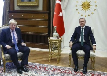 جونسون يمازح أردوغان بواقعة عمرها 107 أعوام.. ما قصتها؟