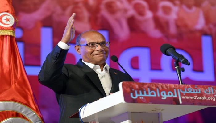 تونس.. المرزوقي يدعو الجيش التونسي للتخلي عن قيس سعيد