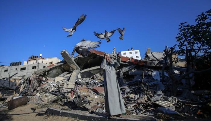 بمساعدة قطرية.. غزة تبدأ إعادة بناء المنازل المتضررة جراء الحرب