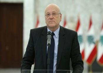 ميقاتي يطلب مساعدة فرنسا في إدارة الحكومة اللبنانية