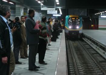 انتحار سيدة مصرية أمام مترو الأنفاق
