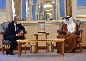 ملك البحرين يبحث مع وزير الخارجية الإسرائيلي العلاقات الثنائية بالمنامة
