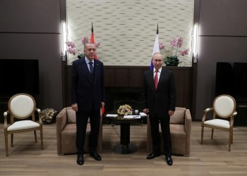 أردوغان وبوتين يبحثان إنشاء محطات نووية جديدة في تركيا