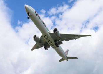 """""""القطرية"""" تتصدر تصنيف جديد لأفضل 10 شركات طيران بالعالم"""