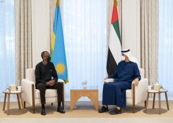بن زايد يبحث مع رئيس رواندا العلاقات الثنائية والمستجدات الدولية