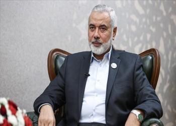 هنية يعزي سلطان عمان في ضحايا إعصار شاهين