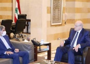 ميقاتي يبحث مع سفير إيران لدى بيروت الأوضاع العامة والعلاقات الثنائية