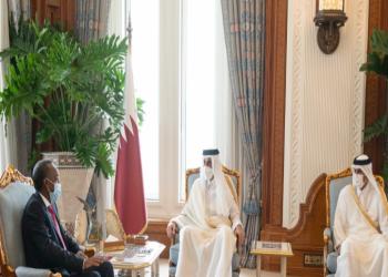 أمير قطر ورئيس وزراء الصومال يبحثان العلاقات الثنائية