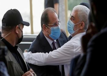 حماس تصدر بيانا حول لقاء هنية بعباس كامل