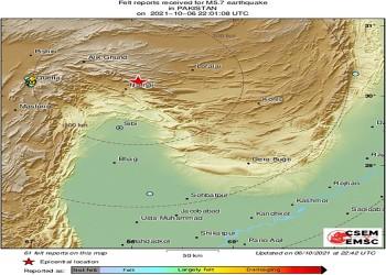 زلزال قوى يضرب جنوبي باكستان.. ومصرع 15 على الأقل (فيديو)