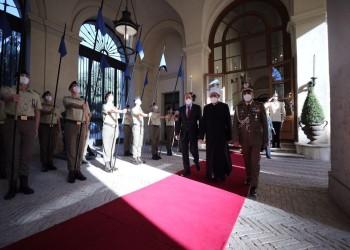 الرئيس الإيطالي يشيد بشيخ الأزهر ويبحث معه عدة قضايا