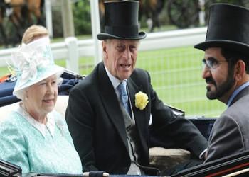 صحيفة: ملكة بريطانيا قررت عدم الظهور مع بن راشد مجددا بسبب قضية التجسس
