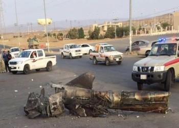 5 إصابات جراء سقوط مسيرة حوثية على مطار جازان السعودي