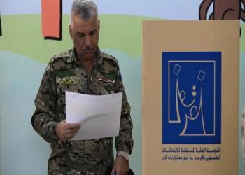 %69 نسبة المشاركة في الاقتراع الخاص لانتخابات العراق المبكرة