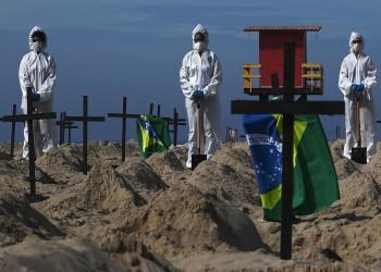 الثانية عالميا.. البرازيل تتجاوز 600 ألف وفاة بفيروس كورونا