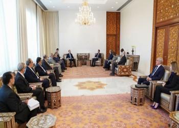الأسد يستقبل عبداللهيان ويؤكد أهمية إعادة جميع الأراضي السورية
