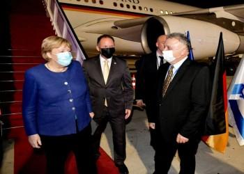 الزيارة السابعة لها.. أنجيلا ميركل تصل إلى إسرائيل