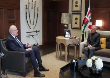 خلال أول زيارة خارجية لميقاتي.. عاهل الأردن يؤكد وقوف بلاده بجانب لبنان