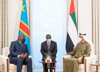 ولي عهد أبوظبي يبحث مع رئيس الكونغو الديمقراطية التعاون الاقتصادي