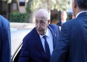 رئيس الجزائر يستقبل رئيس مجلس النواب الليبي