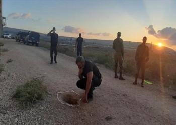لقطات مصورة توثق هروب الأسرى الفلسطينيين الستة من سجن جلبوع