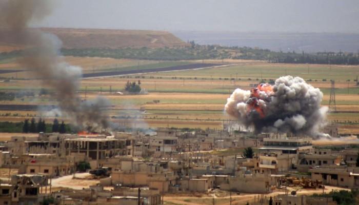 طائرات مسيرة مجهولة تستهدف مواقع ميليشيا إيرانية شرقي سوريا