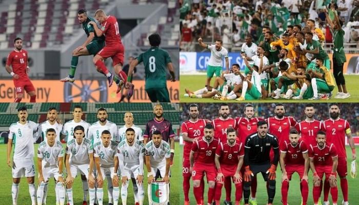 مواجهات عربية قوية في تصفيات مونديال قطر 2022