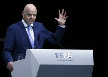 رئيس الفيفا يعرض على إسرائيل والإمارات استضافة كأس العالم 2030
