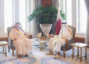 أمير قطر يلتقي وزيرا سعوديا في الدوحة