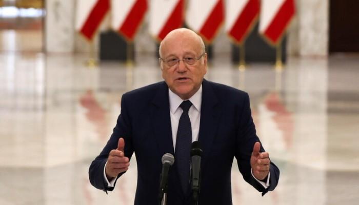 ميقاتي: لبنان مريض في غرفة الطوارئ.. وعزل قاضي انفجار بيروت ليس بيد السياسيين
