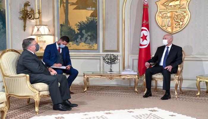 رئيس تونس للسفير الأمريكي: مستاؤون من تدخل الكونجرس في شأننا الداخلي