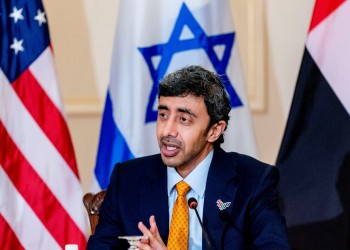 وزير خارجية الإمارات يلتقي أعضاء اللجنة اليهودية الأمريكية بواشنطن