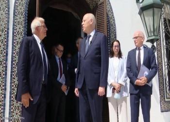 قيس سعيد يتهم تونسيين يعارضونه بالخارج بتشويه سمعة البلاد