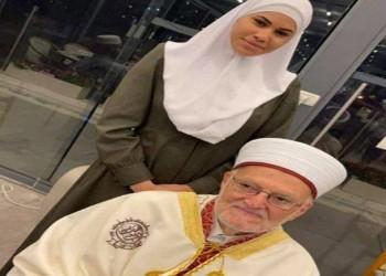 صورة مع عكرمة صبري توقف محامية فلسطينية عن العمل في الكنيست