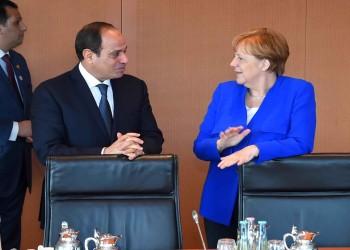 قبل مغادرتها منصبها.. ميركل تتباحث مع السيسي حول ليبيا وإيران